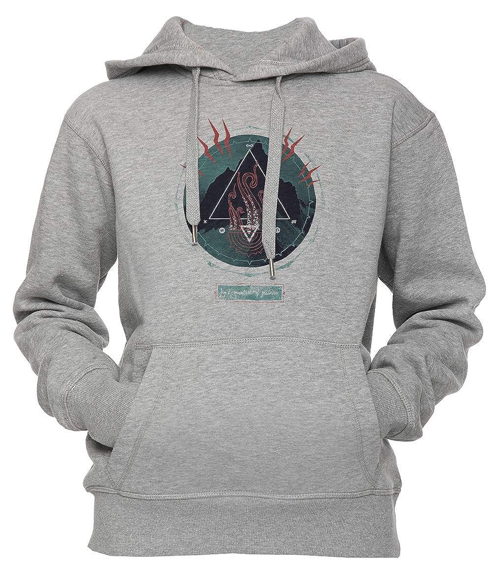 Erido Montaña de Locura Unisexo Hombre Mujer Sudadera con Capucha Pullover Gris Todos Los Tamaños Mens Womens Hoodie Grey: Amazon.es: Ropa y accesorios