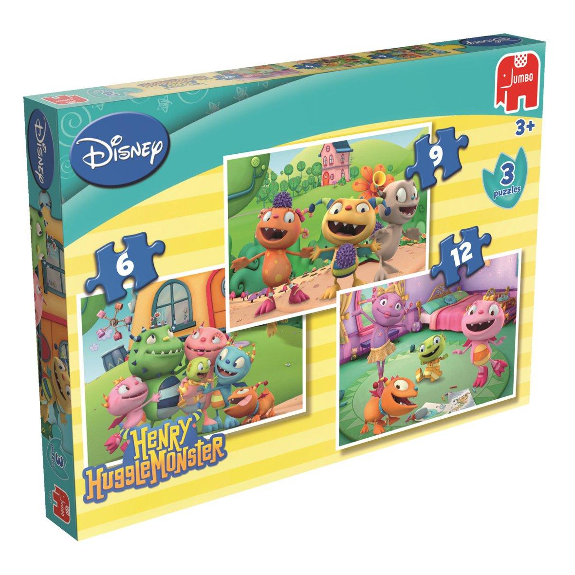 Jumbo Spiele Puzzle Disney de 12 piezas (Jumbo 17471)