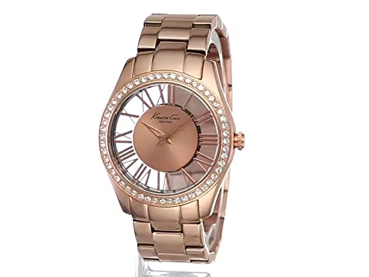 Amazon.com: Kenneth Cole New York Womens KC4852 Transparency Stainless Steel Watch: Kenneth Cole: Watches