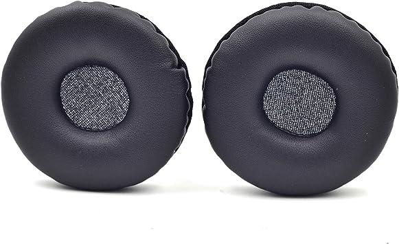 Pinhaijing 5Pairs 60mm//2.4 Replacement Foam Earpads Cushion for Logitech H600 H330 H340//Aiwa HP-CN5//Labtec Axis 502 Headset Black