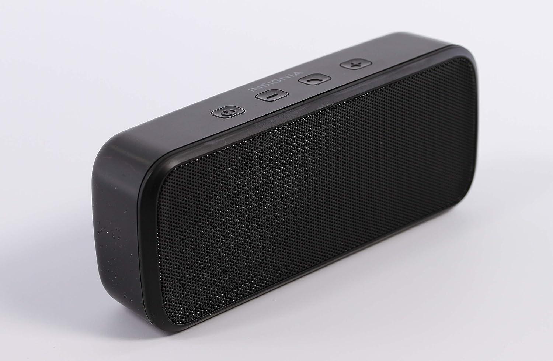 Insignia Portable Bluetooth Stereo Speaker (NS-CSPBTHOL9-BK) Black - New