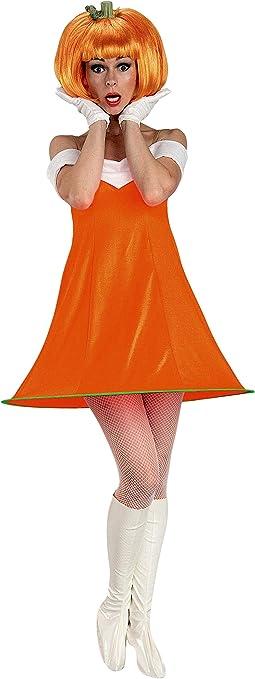 Rubies - Disfraz de calabaza con peluca para mujer, talla única ...
