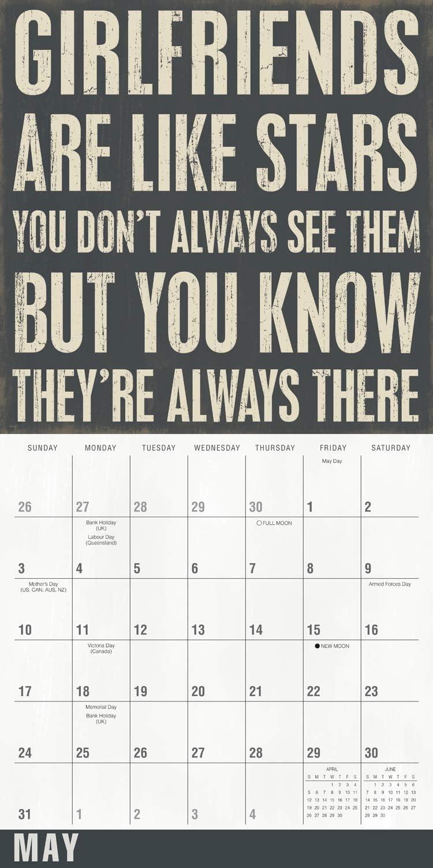 Words of Friendship 2020 Calendar