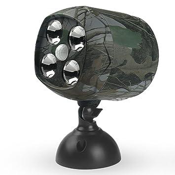 ARTITAN Focos LED Exterior PIR Sensor de Movimiento Ángulo Amplio de 120 °IP65 Impermeable para