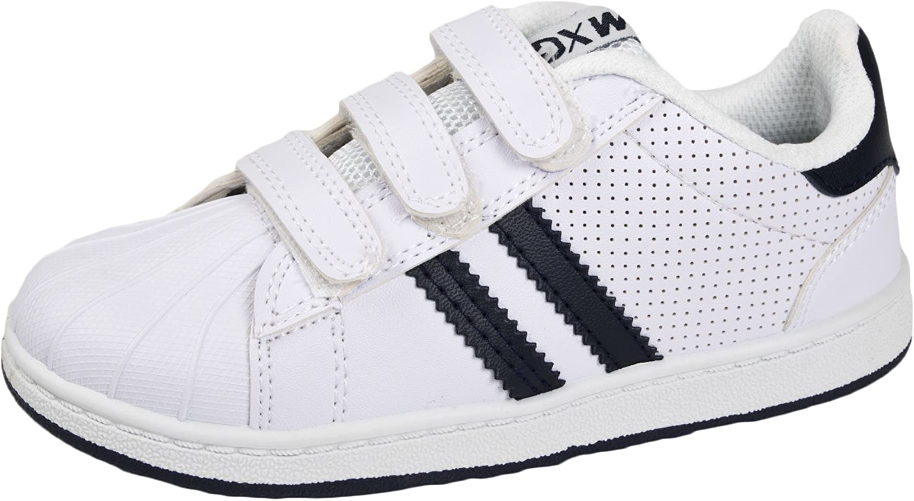 Kids Trainers White / Navy Size 8