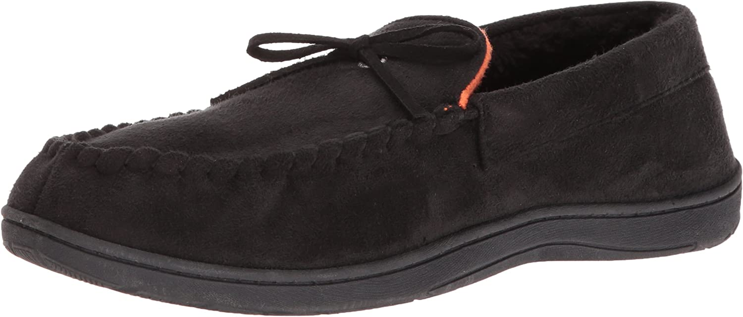 Dockers Men's MoccASIN Slippers with Memory Foam and Odor Control, size 8 to 13