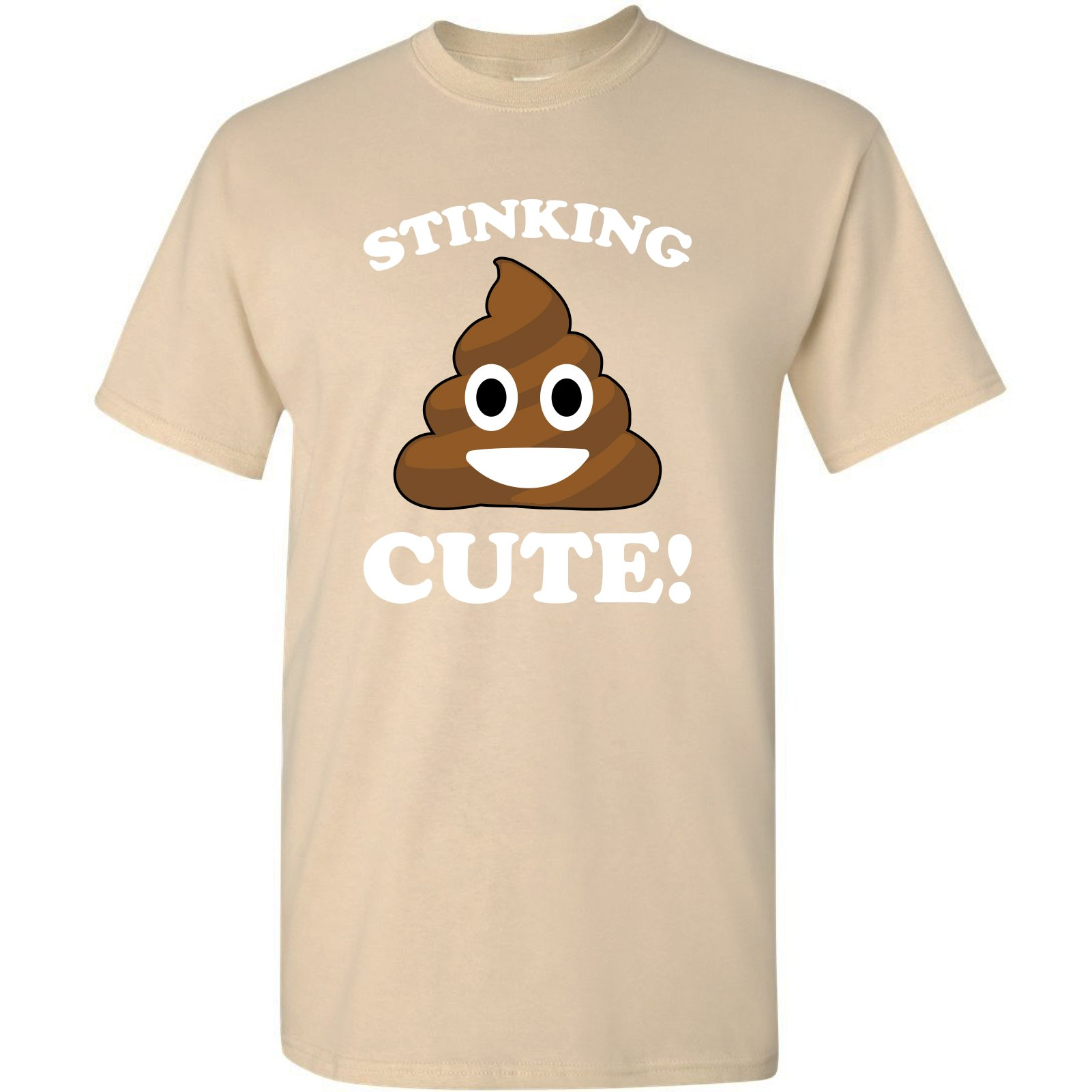 Stinking Cute Poop Emoji Funny Novelty Humor 1338 Shirts