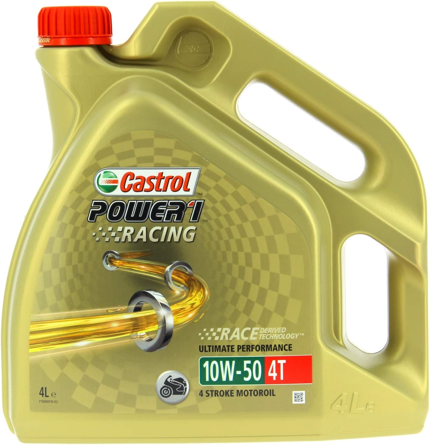 Castrol Power 1 Racing 10W-50 4T, 4 L