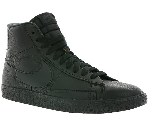 sale retailer 8f5dc 24764 Nike Womens Blazer Mid SE Hi Top Trainers 885315 Sneakers Shoes (US 6.5,  Black