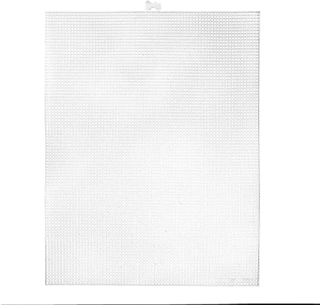 "Darice Plastic Canvas 10 Count 10 1//2/""X13 1//2/"" Clear 33030-1 Bulk Buy 12-Pack"