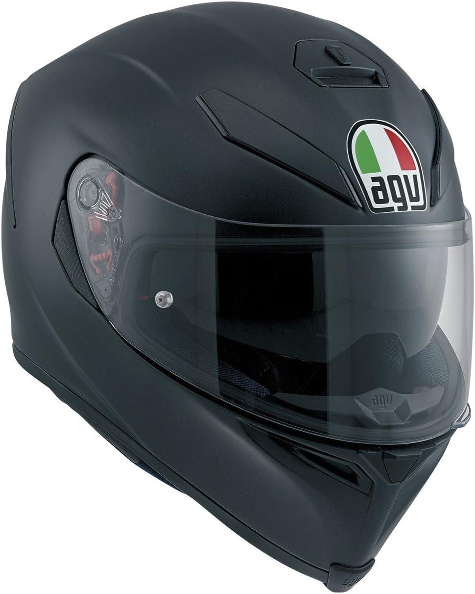 Black AGV 0041A4HY/_002/_ML K-5 S E2205 Solid Helm Gr/ö/ße ML