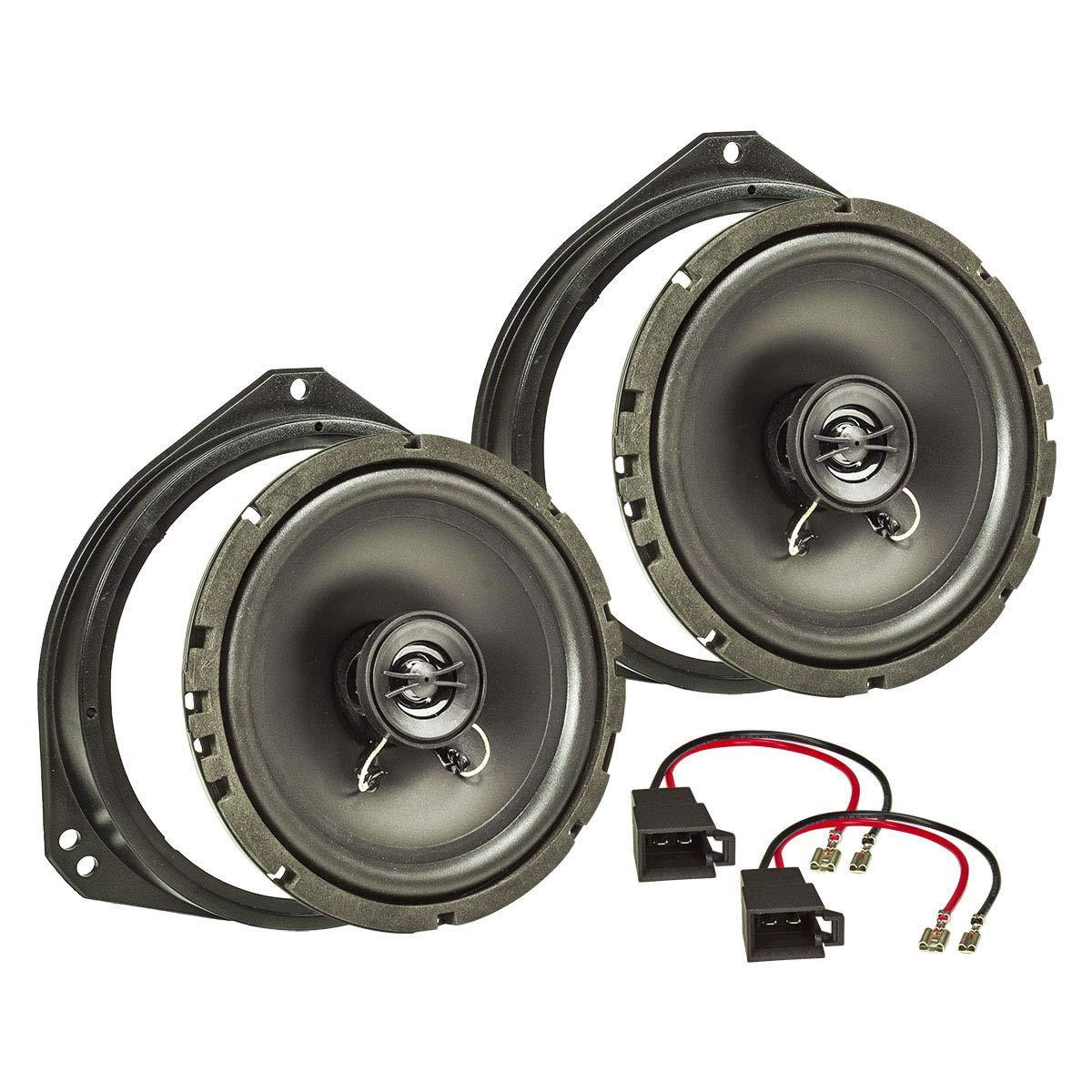 tomzz Audio 4039–000altavoz Set de instalación para Opel Corsa B y C, Tigra, Meriva, para puerta delantera
