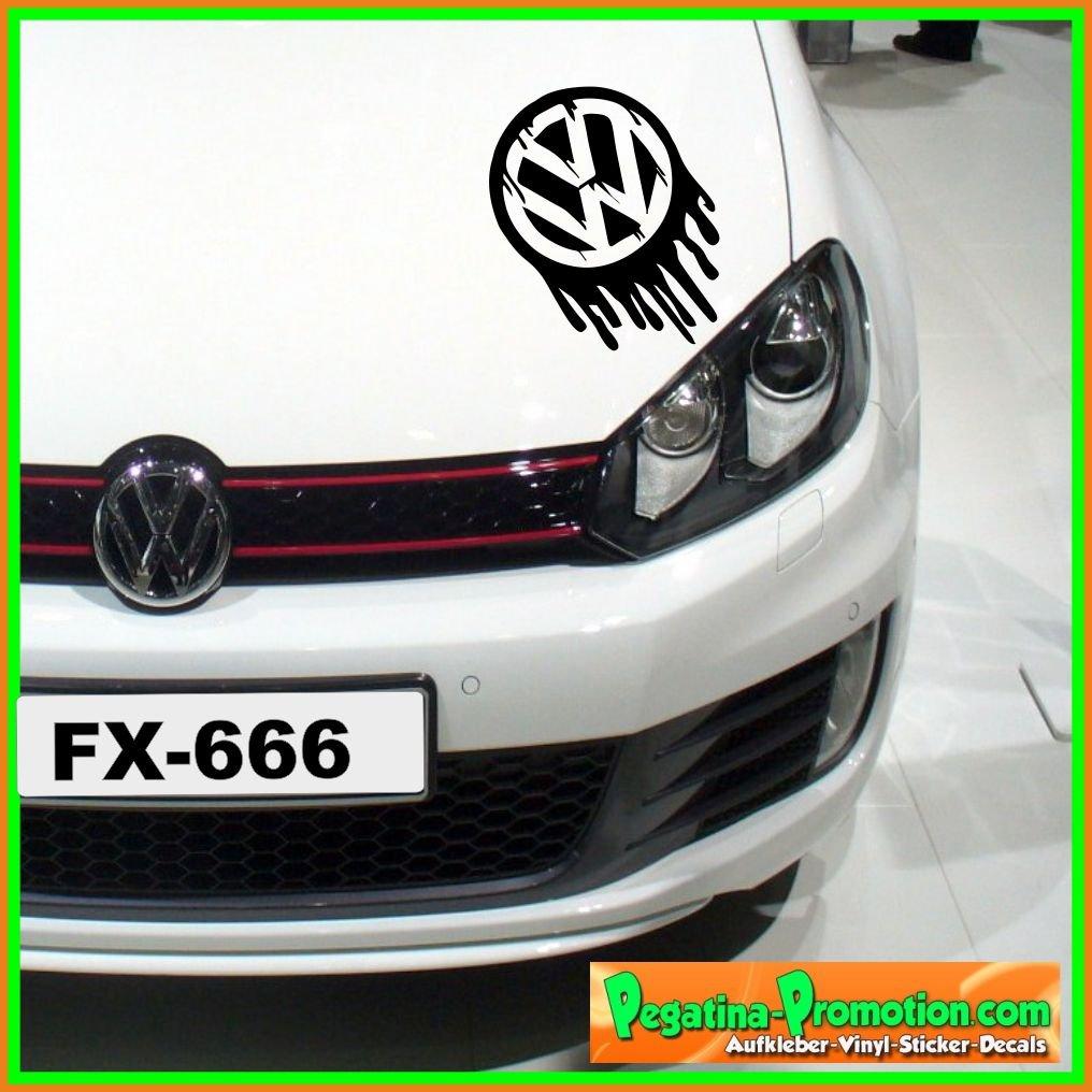 """'VW Volkswagen Paint """"Wet, 20x 20cm, Sticker mural Sticker mural autocollants Décalque, voiture, Brique, Stickers muraux"""