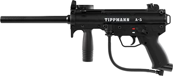 Tippmann A-5 with Response Trigger .68 Caliber Paintball Marker