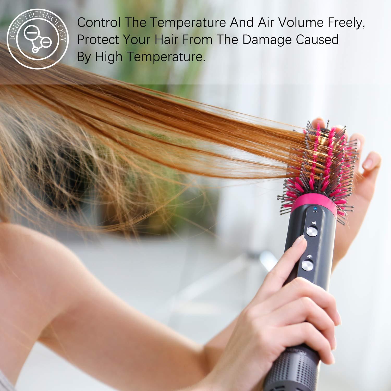 Hair Dryer and Styler Volumizer Multifunctional Ion Hot Air Brush