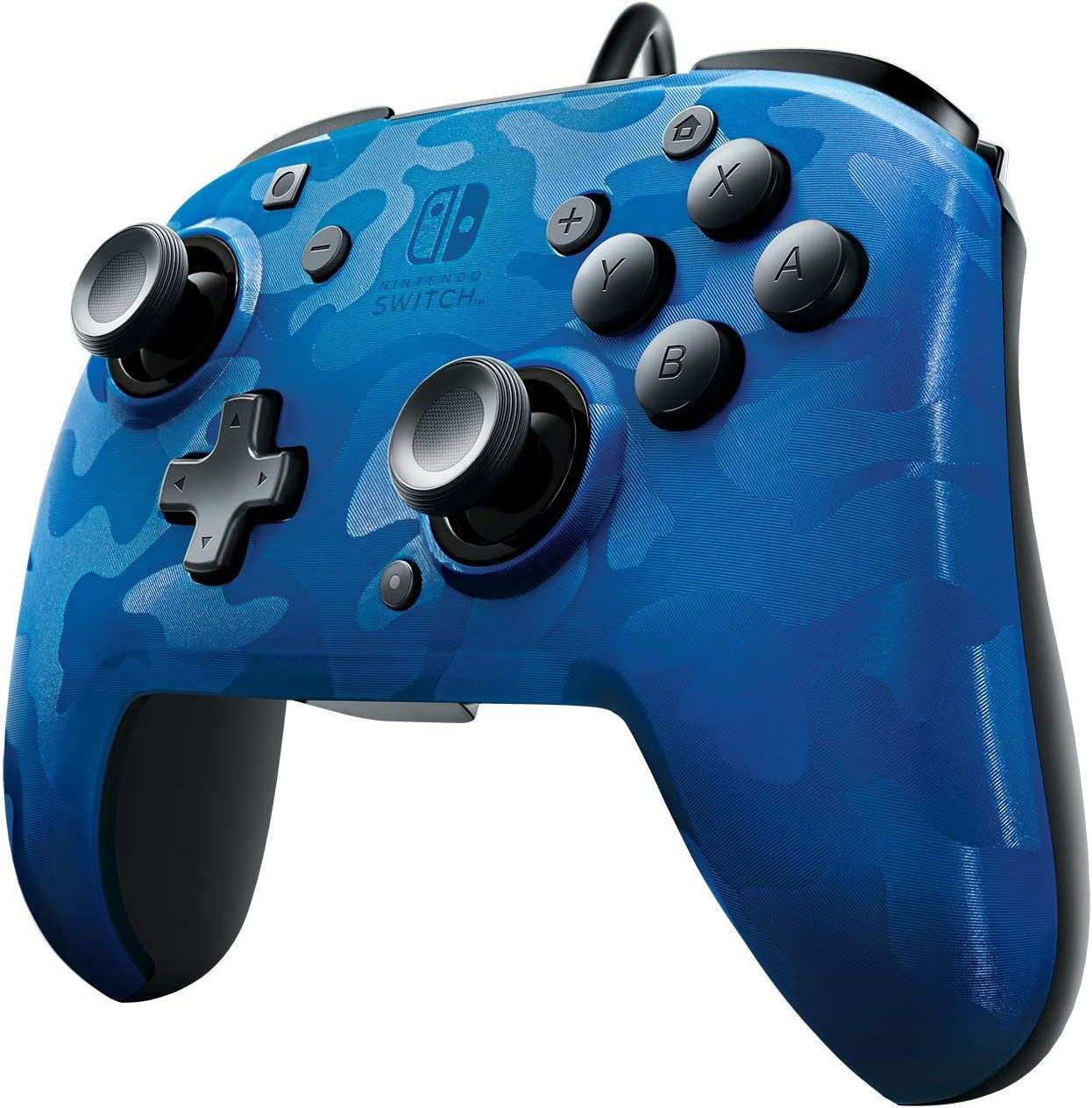 Pdp Camo Wired Controller For Xbox One Driver Windows 7: Amazon.com: PDP Nintendo Switch Blue Camo Faceoff Wired Pro rh:amazon.com,Design