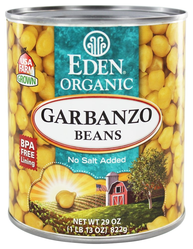 Eden Foods - Organic Garbanzo Beans - 29 oz(pack of 2)