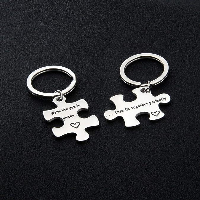 Amazon.com: AKTAP Puzzle Jewelry - Juego de piezas de puzzle ...