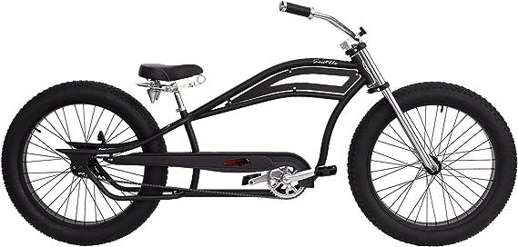 Grupo Contact- Bicicleta Carretera Custom Chopper Mod. Seattel Negra (PI-30)-1: Amazon.es: Deportes y aire libre