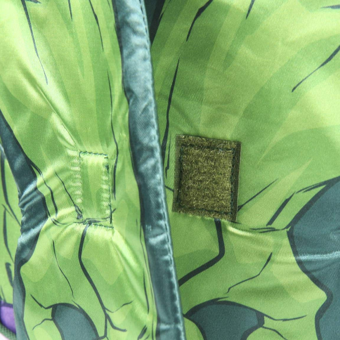 31 cm Verde Artesania Cerda Mochila Infantil Personaje Avengers Hulk Zainetto per bambini