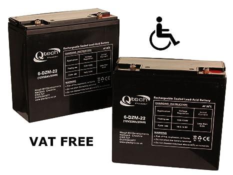 2 de batería de moto para personas de movilidad discapacitados silla de ruedas 12