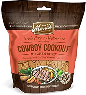 product image for Merrick Oven Baked Natural Crunchy Dog Treats Crafted in the USA