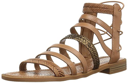 33684702bfb Nine West Women s Xema Synthetic Gladiator Sandal  Nine West  Amazon ...