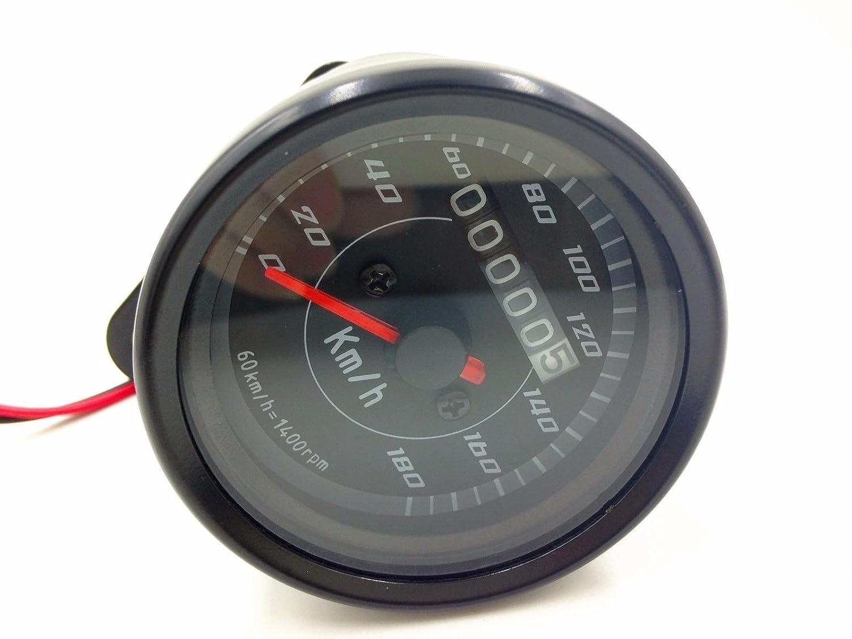 LED moto tachimetro tachimetro calibro contachilometri Cafe Racer Cruiser VT