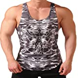EVERWORTH Men's Bodybuilding Fitness Stringer