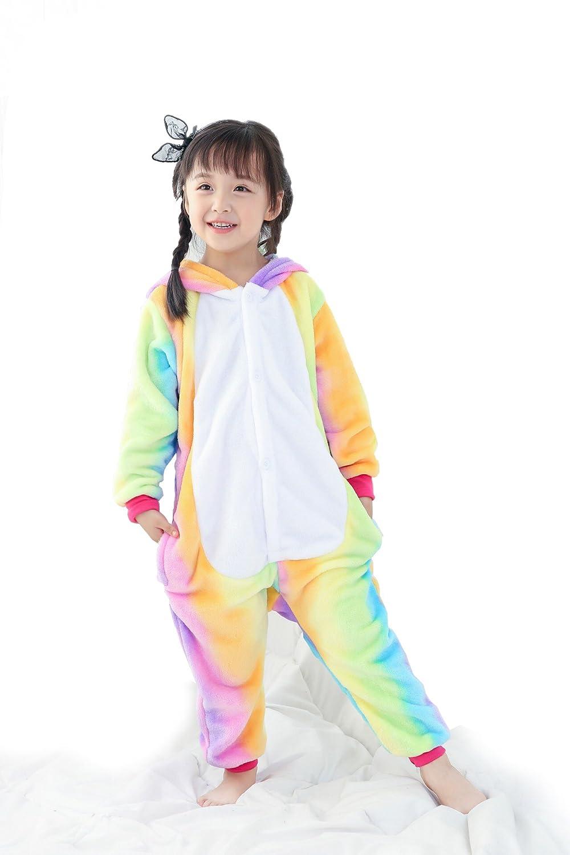4641dc37d5d3 Amazon.com  NOUSION Unisex Kid Unicorn Pyjamas