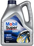 Mobil Super 1000 5W-30 Mineral Motor Oil (3.5 L)