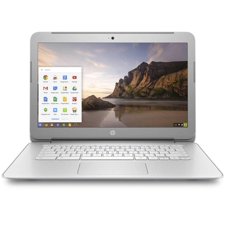 2017 Premium High Performance HP 14 inch Chromebook Full HD (1920 x1080) IPS display,Intel Celeron Quad-Core Processor,4GB RAM,16GB eMMC HDD,802.11AC WIFI HDMI Webcam Bluetooth Chrome OS, only 3.74Lb by HP (Image #1)