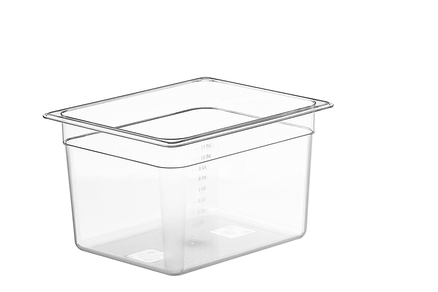 LIPAVI Sous Vide Container Model C10 3.0 Gallon (12 Quarts) 12.7 x 10.3 Inch - Matching L10 rack and tailored lids for Joule, Anova and more sold separately