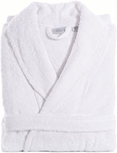 Linum Home Textiles Luxury Hotel Collection 100% Turkish Cotton Unisex Terry Cloth Bathrobe