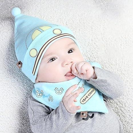WISEUK bebé recién nacido Otoño Primavera Algodón Lindo Delgado Bebé ...