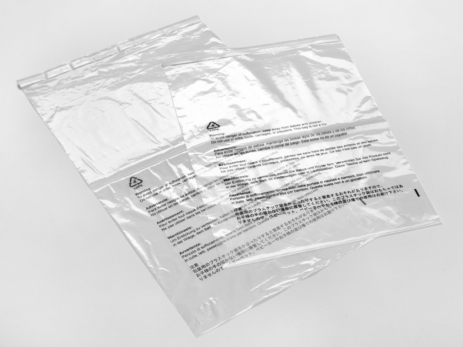 Amazon Com Clear Poly Bags Combo Pack Strong Self Seal