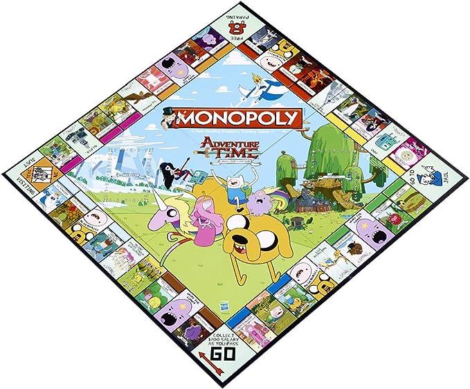 Adventure Time Monopoly: Edición de coleccionista: Amazon.es: Juguetes y juegos