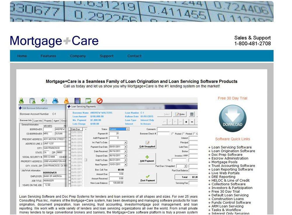 Amazon com: Mortgage Care Loan Servicing Software - SI