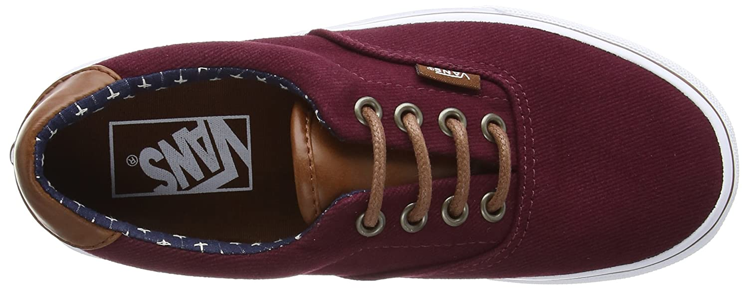 Vans Unisex Sneaker nbsp;– Era Wine/Plus) 59 CA Rot (T&l/Windsor Wine/Plus) Era 712d99