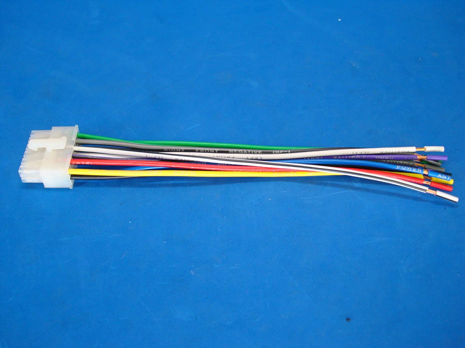 DUAL CAR AUDIO 12-PIN STEREO WIRE HARNESS RADIO POWER PLUG MAIL BACK Dual Head Unit Wiring Harness on dual dvd wiring harness, dual battery wiring harness, dual radio wiring harness,
