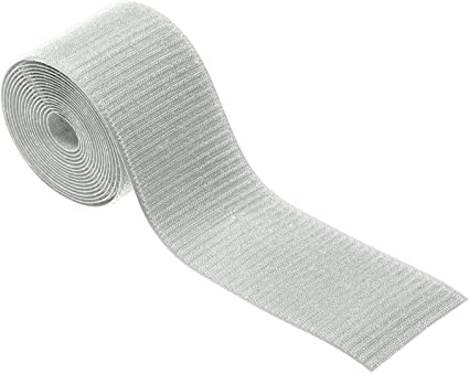 """Floor Cable Cover for Commercial Office Carpet Only D-Line Cable Grip Strip Hold Cords in Place Under Desks and Around The Perimeter of Rooms 3/"""" Width X 10/' Length 10 Feet, Light Grey"""