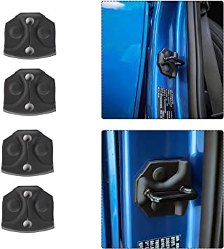 Amazon Com Voodonala Door Lock Striker Covers For Ford F150 2015 2016 2017 Automotive