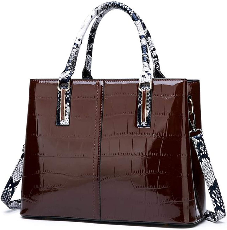 Crocodile Pattern Women Bag Set Leather Bag Handbags Female Composite Bags With Serpentine Wallet