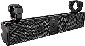 SuperATV MTX 6 Speaker Universal Sound Bar Stereo System - Speakers, Stereo, Bluetooth - Fits RZR/Ranger/General/Maxerick / X3 / Defender/Commander/Teryx/YXZ/Pioneer/Wildcat and More!
