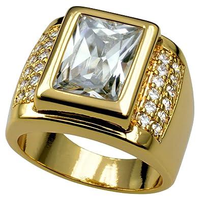cad74196bed2 ¿Quieres lucir sofisticado  con este anillo lo lograrás sin problema. Una  pieza elaborada con oro de 18K y pequeñas piedras preciosas.