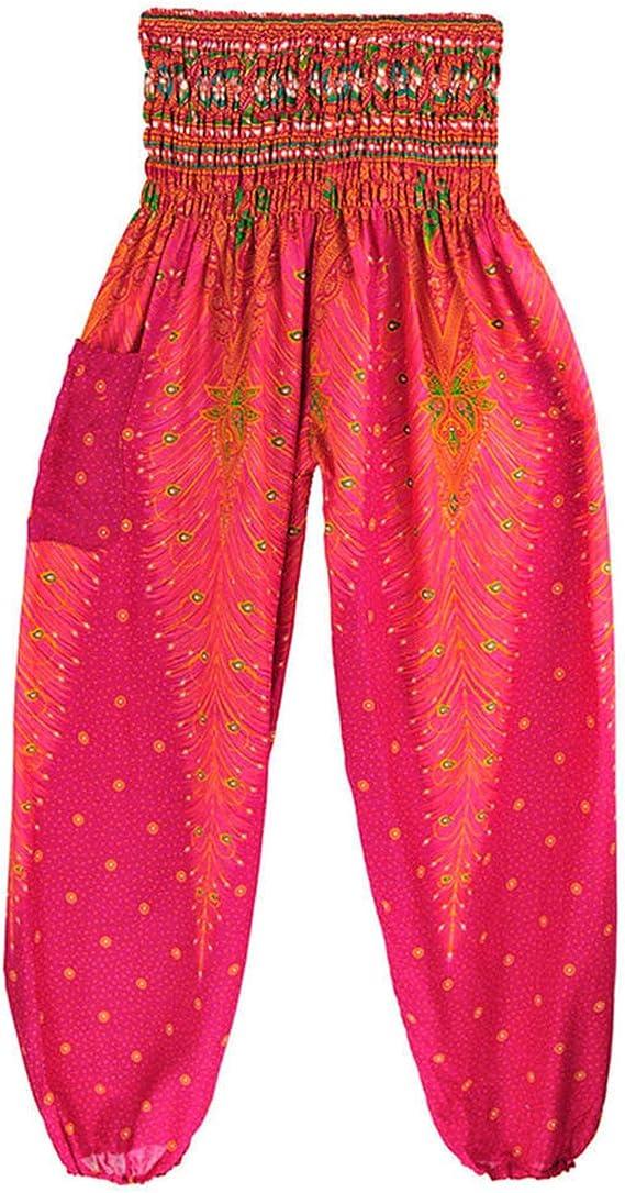 Amazon Com Baggy Harem Pantalones Elephant Unisex Mujer Hombre Cordon Hippy Pierna Ancho Pantalones Moderno Talla Unica Clothing