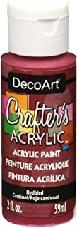 product image for DecoArt DCA63-3 Crafter's Acrylic Paint, 2-Ounce, Redbird