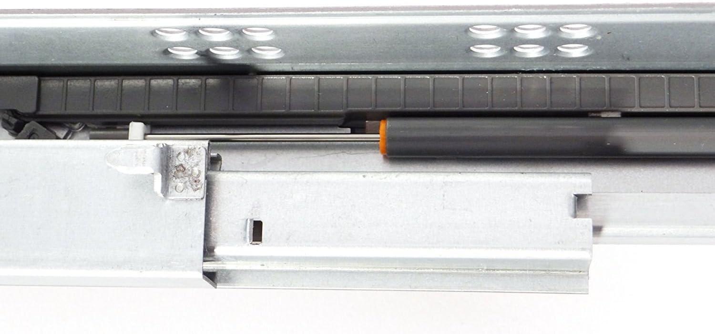 1 par SO-TECH/® FullSlide caj/ón partituras 250 mm para el caj/ón de madera