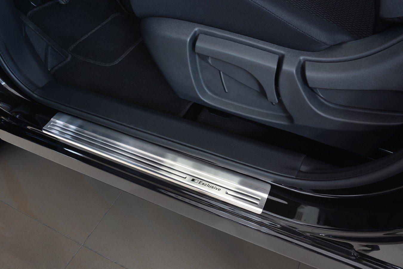 tuning-art EX100 Battitacco per portiere in acciaio inossidabile