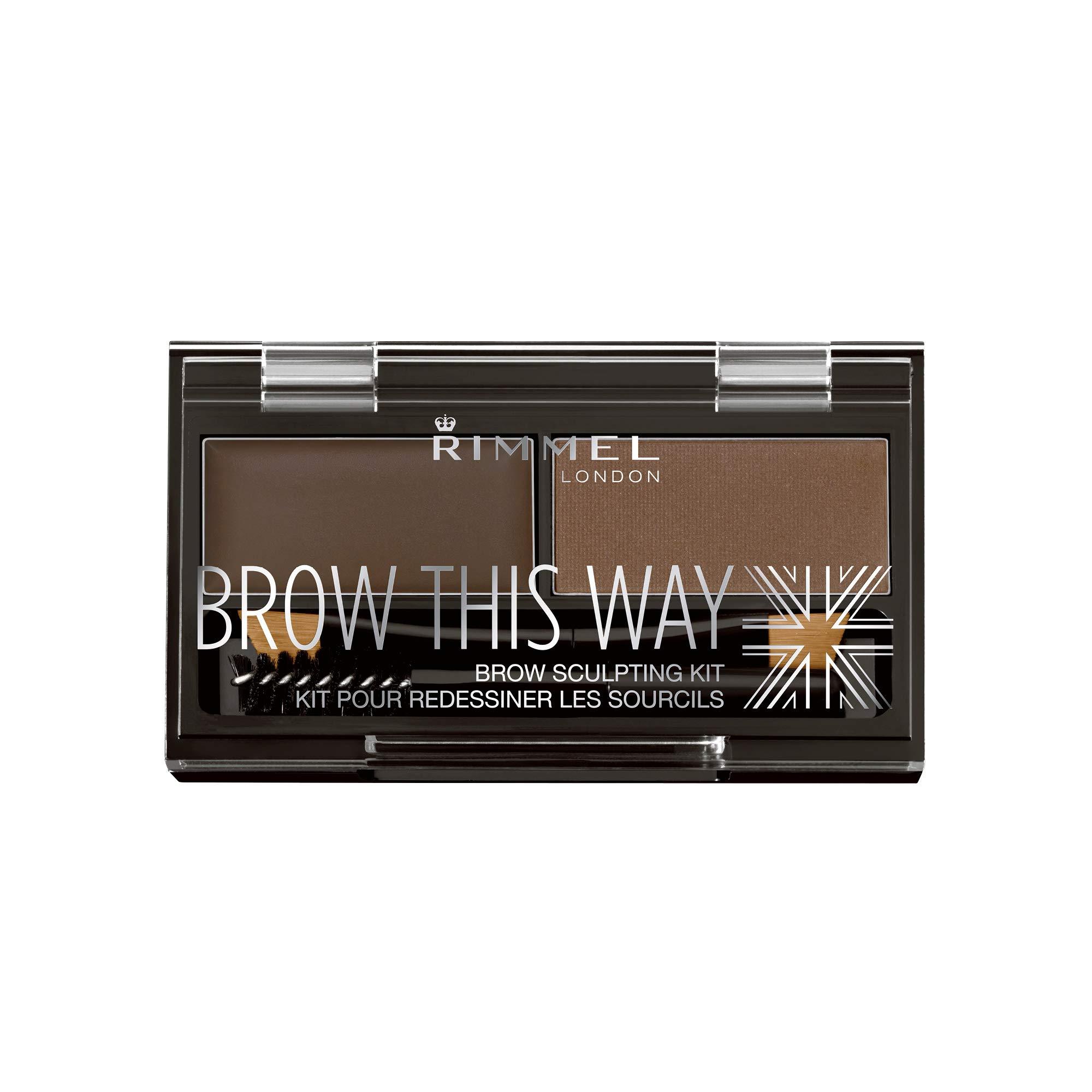Amazon Kleancolor Brows Essential Kit Kcebk112 Dark Brown